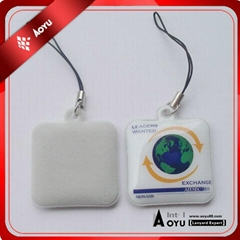 PVC mobile phone cleaner for promotion with custom shape