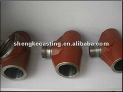 steel Tee pipe fitting parts