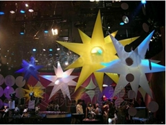 2013 Hot Selling Inflatable Lighting Decoration Star