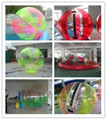 Hot Selling Cheap Different type Inflatable Water Ball, Water Walker