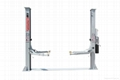 1900mm height single side manual release two post hydraulic pump for car lift 1