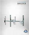 CE four post pneumatic used car lift vehicle hoist 2