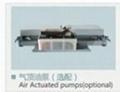 CE four post pneumatic used car lift vehicle hoist 3