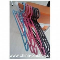 custom plastic hanger clothes hanger