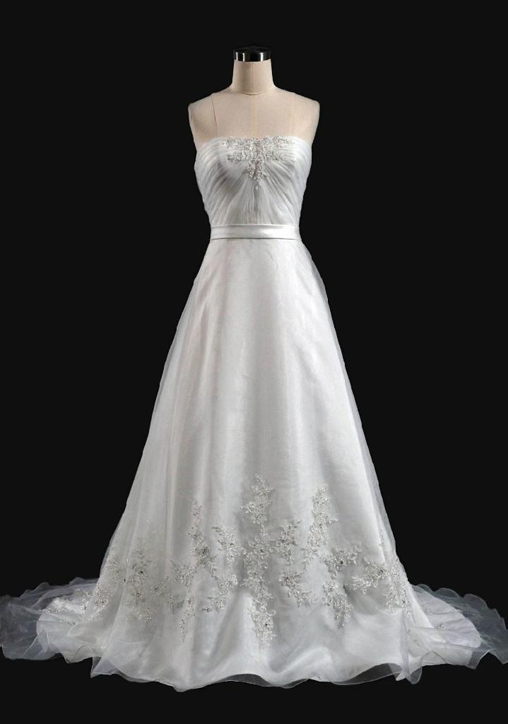 A-line Hotel Wedding Dress 1