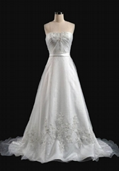 A-line Hotel Wedding Dress