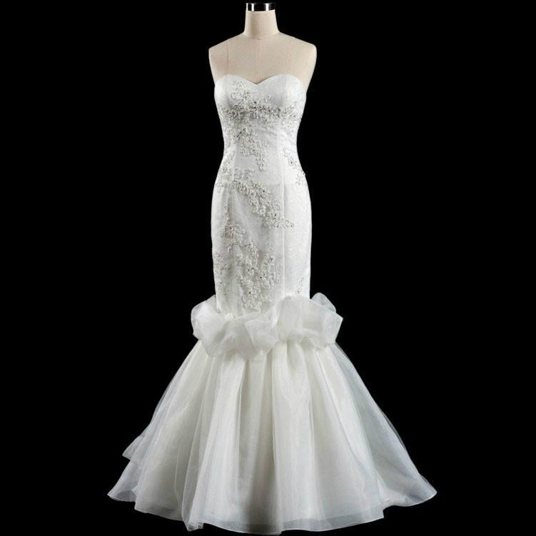 Mermaid Hotel Wedding Dress 1
