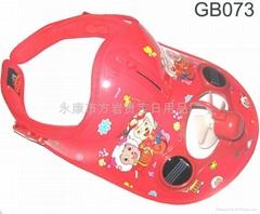 儿童双太阳板太阳能风扇帽/太阳能帽子/GB070-GB079