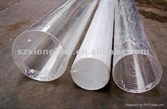 Plastic PMMA Acrylic Resin Tube