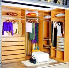 Melamine Model MDF Wardrobe Closet Supply directly by Factory