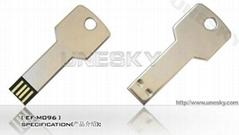 Metal key USB Flash Drives