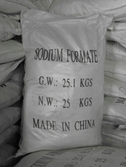 sodium formate used to p