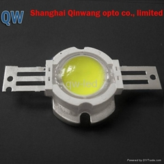 10w high power white led with len