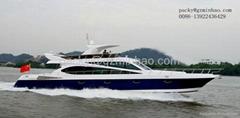 High quality 78'luxury yacht