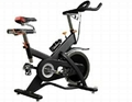 gym equipment fitness spin bike