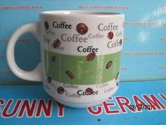 ceramic coffee mug for home use