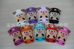 Production and supply of one piece series chopper iPhone4S 5 mobile phone shell