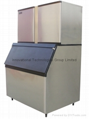 Commercial cube ice maker