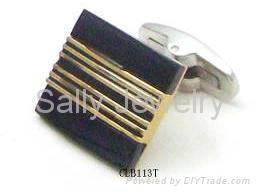 优质不锈钢袖扣-男士首饰 2