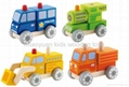 kids wooden engine cars