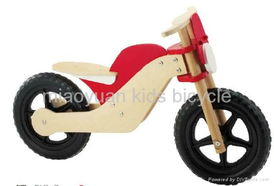 kids wooden bicycle 1