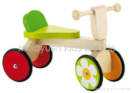 kids wooden bicycle 2