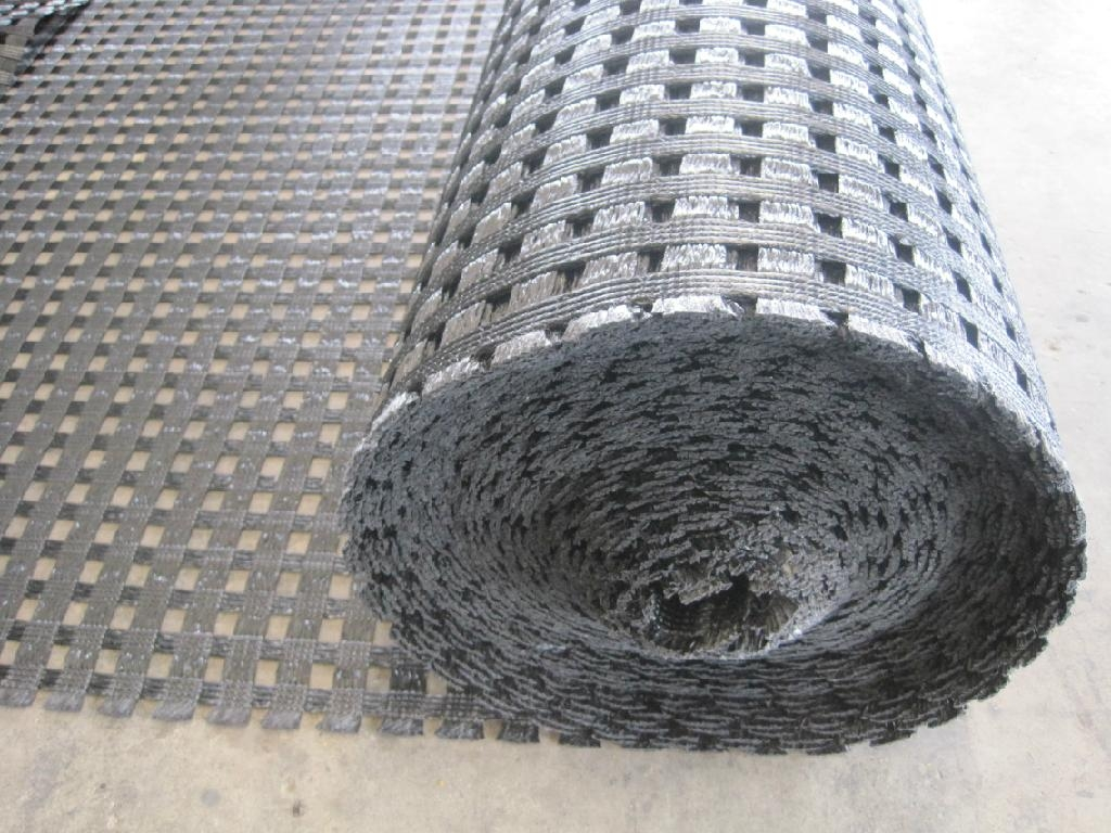 Road Construction Materials : High quality biaxial geogrid for road construction