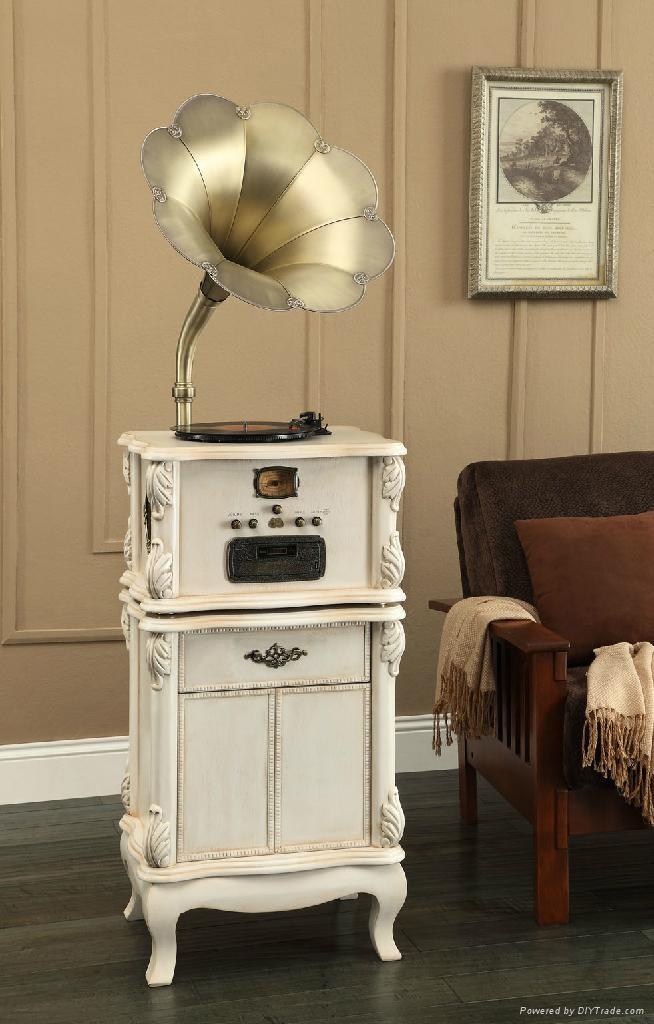 怀旧古典留声机 JD-678 1