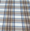 100%POLYESTER CHECK DESIGNS POLAR FLEECE