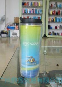 星巴克雙層廣告杯 2
