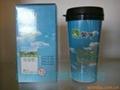 塑料雙層隨身杯 2