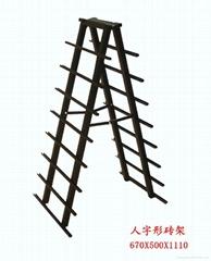 Chain store brand names ceramic tile rack