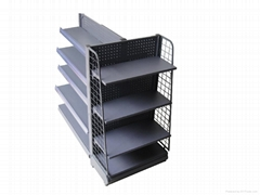 2013 hot 3 side slatwall display stand