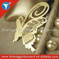 free design metal bookmark