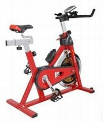 紅色動感單車