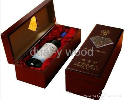 Wine boxes, wood packing boxes 2