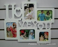 Wedding photo frames, wall photo frames, wooden photo frames