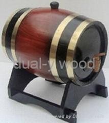 Wine barrel, oak wine barrel