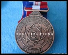 各种比赛金属奖牌