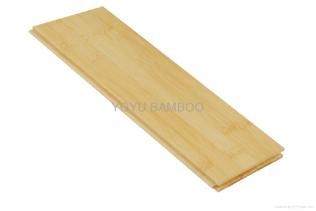 Natural Horizontal Solid Bamboo Flooring T G