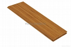 Carbonized Vertical Solid Bamboo Flooring T&G