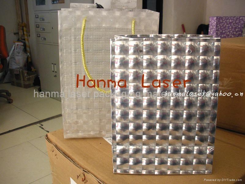 3d holographic aluminum film/metalize film/multi-lens pp film 2