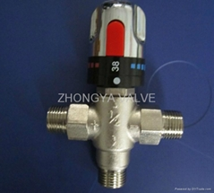 Hot Water Diverter Valve Thermostatic Mixing Valve