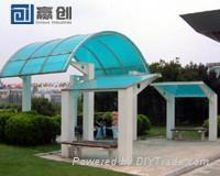 Polycarbonate Canopy 4