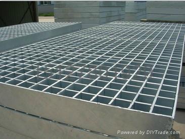 鑫宏钢格板专业生产钢格栅板 3