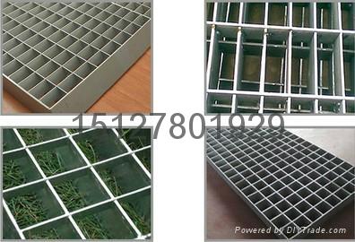 插接钢格板平台化工用平台钢格板 2