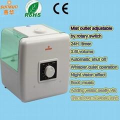 Ultrasonic Cool Mist Humidifier with Auto Shutoff Safety Sensor