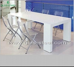 Extendable Glass Dining Table GS-BT001