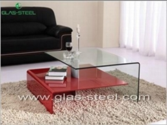 2013 New Disign Modern Betn Glass Coffee Table