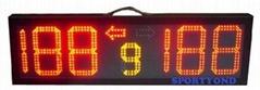 Electronic scoreboard for basketball&football